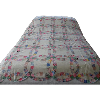 Coverlet. Quilt. American coverlet.