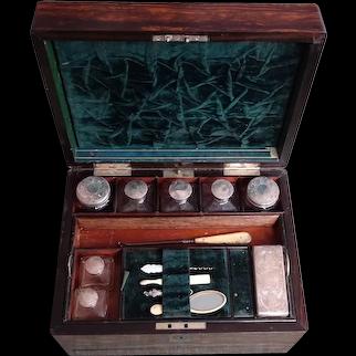 Vanity box. Jewelry box. Coromandel dressing table box.