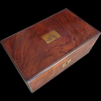 Writing box. Lapdesk. Vintage writing box. Writing slope.