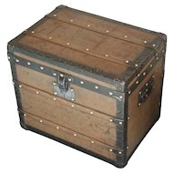 Louis Vuitton Trunk. Vintage Louis Vuitton Trunk. Trunk. Luggage. Louis Vuitton.