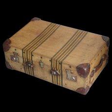 Trunk...Suitcase...Vintage trunk suitcase...