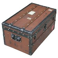 Louis Vuitton. Louis Vuitton trunk. Vintage Louis Vuitton trunk. Vintage luggage.