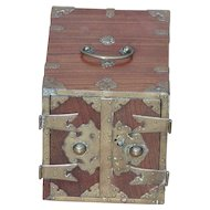 Box...Oriental type box...Box with drawers...