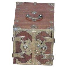 Box...Oriental type box...Box with drawers...