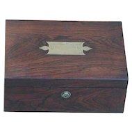 Box...Victorian box...