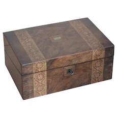 Writing box...lapdesk...Victorian writing box....