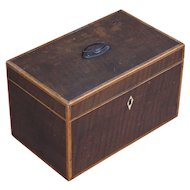 Tea Caddie. Box. Georgian Tea Caddie. Decorative box.