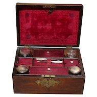 Vanity box...Make-up box...Victorian vanity box...