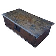 Bible box. Chest. Vintage box.