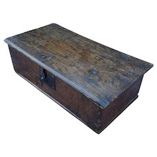 Bible box. Chest. Vintage box.