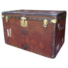 Louis Vuitton Trunk. Vintage Louis Vuitton Trunk. Trunk. Luggage. Louis Vuitton.