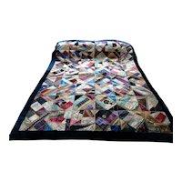 Quilt. Coverlet. Vintage quilt.
