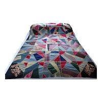 Quilt. Coverlet. American coverlet.
