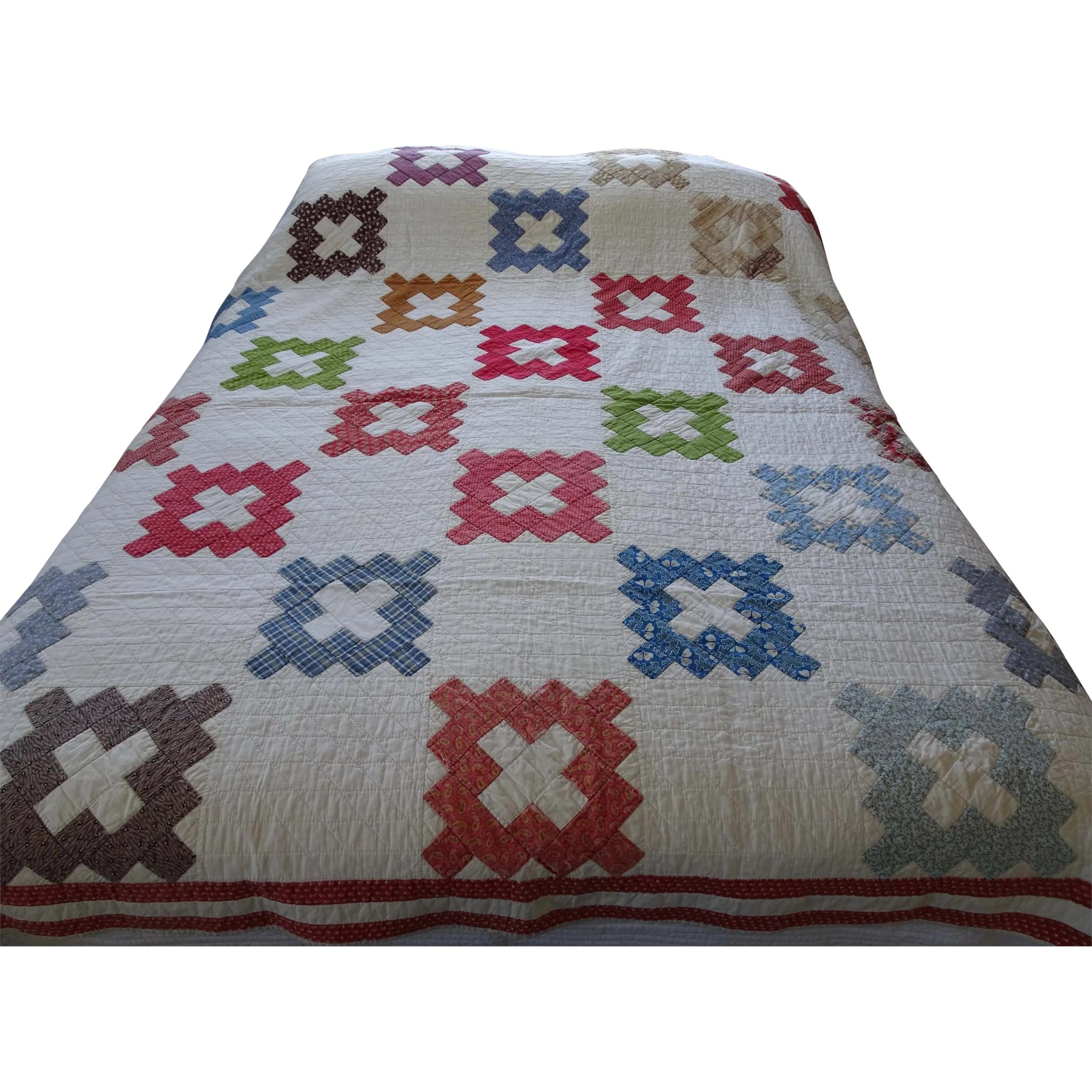 Quilt Coverlet American Quilt Or Coverlet Enwoods Ruby Lane