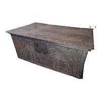 Bible box. Vintage box. Late 17th Century Bible Box.