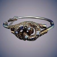 14 karat Victorian Bangle Bracelet