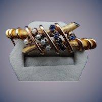 14 Kart Victorian Bangle Bracelet