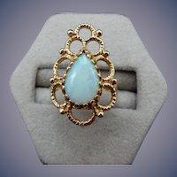 Estate 14 Karat Opal Ring