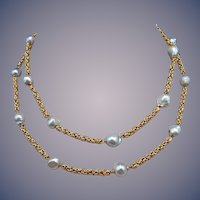Vintage Fresh Water Pearl Necklace