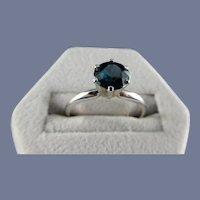 Tiffany Style Sapphire Ring