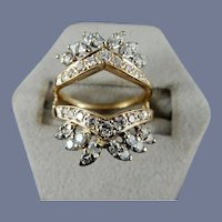 14 Karat Diamond Ring Guard
