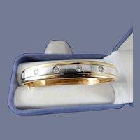 14 Karat Diamond Bracelet