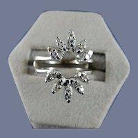 14 Karat Diamond Ring Guard