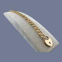 Victorian Gold-Filled Gate Bracelet