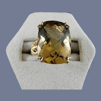 10 Karat Natural Topaz Ring