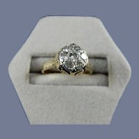 14 Karat Vintage Diamond Ring