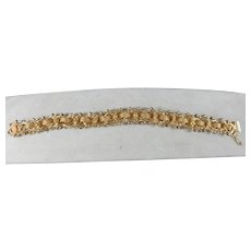 14 Karat Vintage Charm Bracelet