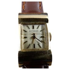 14 Karat Vintage Wittnauer Wristwatch