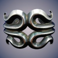 Sterling Silver American Indian Cuff Bracelet