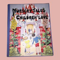 Old Rare Children's Nursery Tales Book Published by Platt & Munk Illustrated by Eulalie