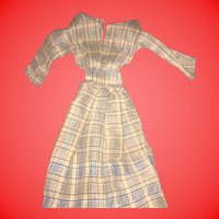 Antique Calico Doll Dress