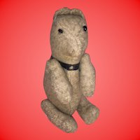 Antique Folk Art Miniature Cloth Lancaster Pa Primitive Bear
