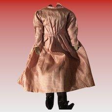 Antique Early Folk Art Cloth Rag Body