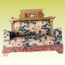 Antique German Apolstered Edwardian Sofa