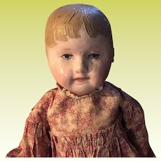 Antique Cloth Stockinette Cloth Martha Chase Doll