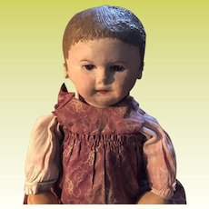Antique Brown Eyed Martha Chase Doll