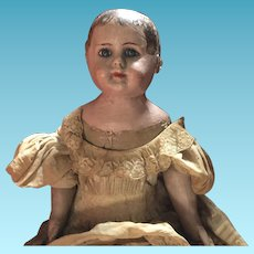 "Antique Ella Smith Indestructible 22"" Alabama Baby Doll"