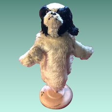 Early Steiff Spaniel Punch Dog King Charles Puppet