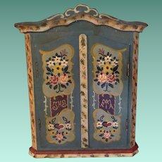 Early Dora Kuhn Armoire Kas Cabinet