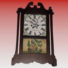 Tynietoy Miniature Dollhouse Mantel Clock