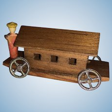 German  Erzgebirge Miniature Dollhouse Penny Toy