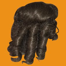 Vintage Mohair Doll Wig for Antique Dolls