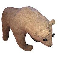 Antique German Early Straw Stuffed Bear