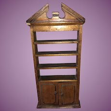 Tynietoy Original Flame Top Dollhouse Miniature Bookcase