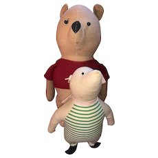 Agnes Brush Winnie The Pooh And Piglet