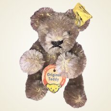 Original Miniature Bendy Steiff Bear With Button and Id